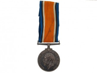 WWI British War Medal - Gunner William Cameron, CFA
