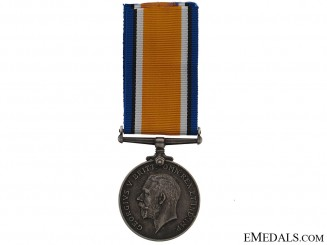 WWI British War Medal - Canadian Railway Troops