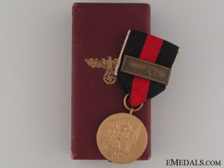 Commemorative Medal October 1. 1938