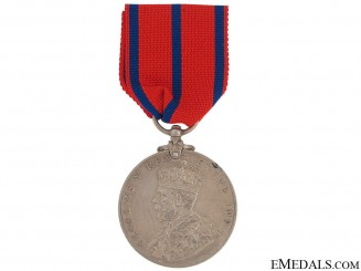Coronation (Police) Medal 1911 -  Scottish Police