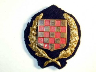 OFFICER'S CAP BADGE 1941