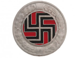 BADGE OF THE GERMAN REGIMENT (CROAT ARMY) WW II