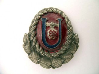 USTASHA OFFICER CAP BADGE