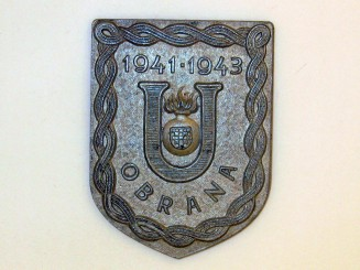 Ustasha Defense Badge,