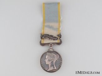 Crimea Medal to the 90th Light Infantry
