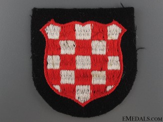 Croatian SS Volunteer Sleeve Shield