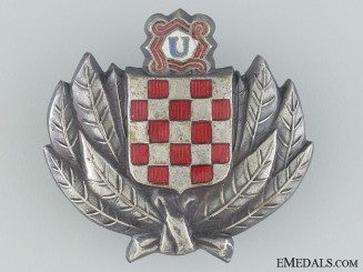 Croatian Treasure Guard Badge