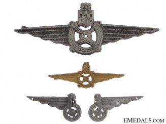 Croatian WWII Railway Badges & Insignia