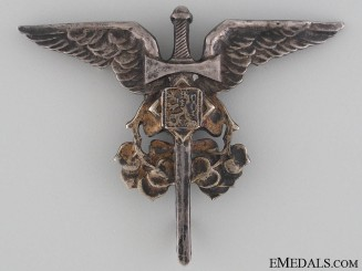 Czechoslovakian Air Observer of Arms Badge