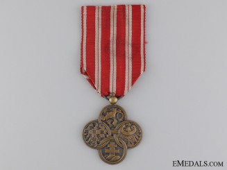 Czechoslovakian War Cross 1914-1918, Type I (1918-1920)