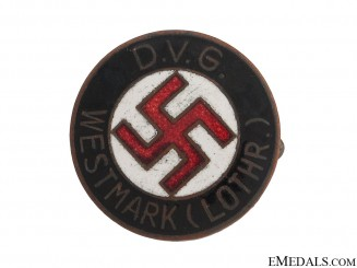 D.V.G. Members Badge