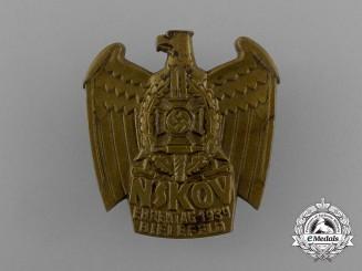 A 1939 NSKOV Bielefeld Memorial Day Badge