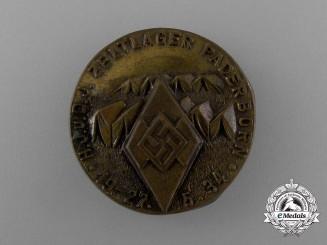 A 1934 HJ/DJ Paderborn Tent Camp Excursion Badge