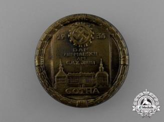 A 1936 DAF Gotha Rally Badge