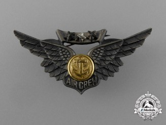 A Second War American Marine Corps Combat Air Crew Badge