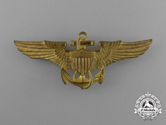 A 1930's American Navy/Marine Corps Aviation Pilot Badge