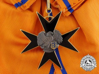 Estonia. An Order of the Eagle Cross, 1st Class Grand Cross, c.1942