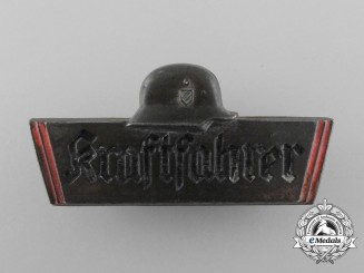 A Third Reich Period Truck Driver's Identification Badge