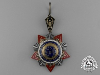 An Egyptian Order of Istiklal, Grand Cross Badge