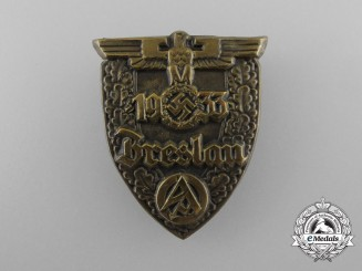 A 1933 Breslau SA Rally Badge