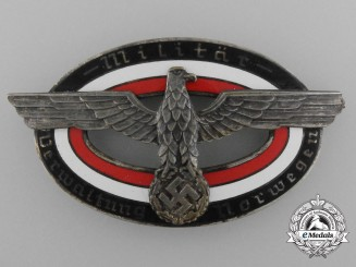 Germany, Heer. A Badge of the Military Administration Norway (Militär verwaltung Norwegen)