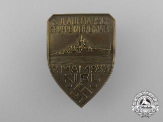 A 1933 SA Aufmarsch Gruppe Nordmark Badge