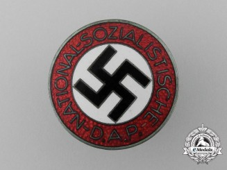 An NSDAP Member's Badge by Rudolf Reiling (M1/25)