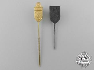 A Cholm and Narvik Campaign Shield Miniature Stickpin