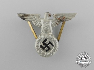 An NSDAP Political Cap Eagle; Early Pattern (1934): RZM Marked