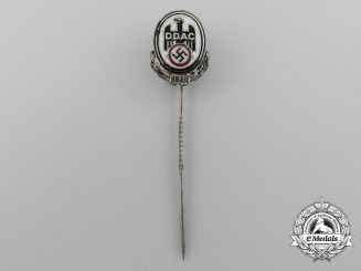 A 1938 D.D.A.C German Automobile Club Membership Stick Pin