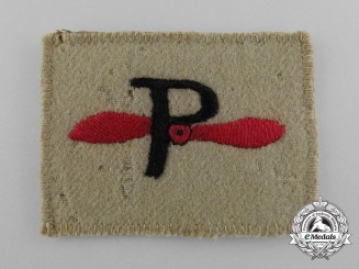 A Rare Second War South African Air Force Photographer Patch