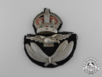 An Rare 1924 Issue Royal Canadian Air Force Peaked Cap Badge