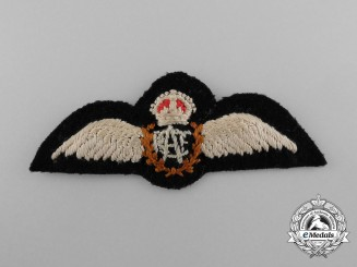 A Reduce Sized Royal Canadian Air Force (RCAF) Pilot Badge