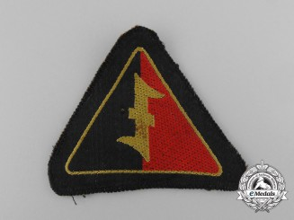 A Second War Dutch NSB EM Sleeve Insignia