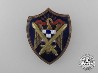 A Spanish Fascist Falange Army Badge