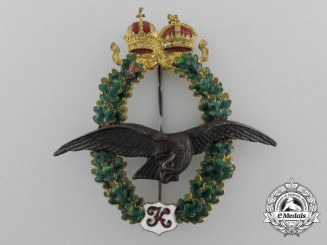 Austria, Imperial A Pilot's Badge 1917-18