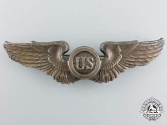 A 1920's American Pilot/Observer Badge by N.S.Meyer