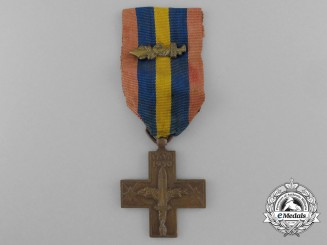 A Italian War Cross; Spanish Civil War Type