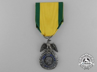 A Crimea Period French Medaille Militaire in Silver