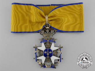 Sweden, Kingdom. An Order of the Sword, Commander's Cross