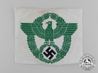 Germany, Polizei. A Sport Shirt Eagle Insignia