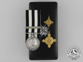 An Order of St. John Group to Divisional Officer Edith Houison; St. John Ambulance Brigade