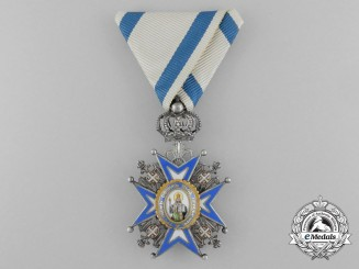 A Serbian Order of St. Sava; Knight (1921-1941)