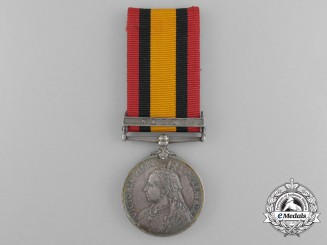 A Queen's South Africa Medal to H.M.S. Thetis