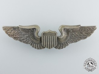 A Second War Austrialian Made American Army Air Force Pilot Badge