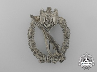 A Second War Silver Grade Infantry Assault Badge