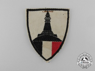 "A Weimar Republic German Warriors Association ""Kyffhäuser"" Sleeve Insignia Patch"
