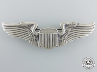A Second War Army Air Force Pilot Badge