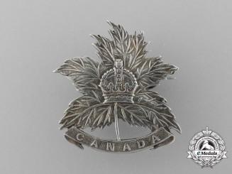 A First War Canada General List Sweetheart Badge