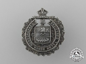 A First War Lord Strathcona's Horse Sweetheart Badge